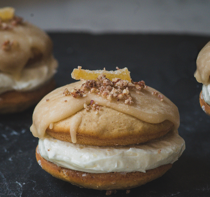 Ginger Apple Whoopie Pies